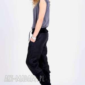 spodnie damskie alladyny bawełniane luźne wygodne efektowne