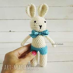 maskotki króliczek amigurumi, 172, misio, króliczek, przytulanka, dla
