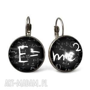 e mc2 - duże kolczyki wiszące - biżuteria, prezent