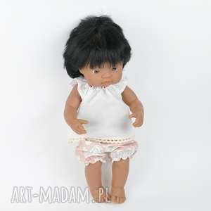 Zestaw ecru tunika bloomersy Miniland, lalki, hiszpańskie, ubranka