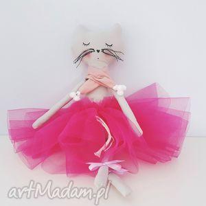 hand-made maskotki kotek baletnica w tiulach