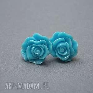 Alloys Collection /róże - blue/ , róże, sztyfty, drobne, stal