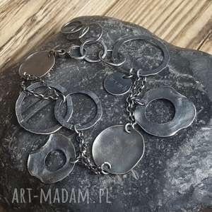 handmade bransoletka srebrna