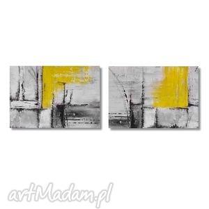 hand made obrazy abstrakcja yg3, nowoczesny obraz ręcznie malowany