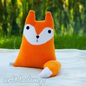 poduszka lis lisek - poduszka, przytualnka, rękodzieło, zabawka