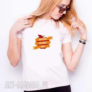 koszulka tshirt damska nauczyciel ma zawsze racje, t shirt, dlaniej