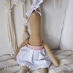 ręcznie wykonane maskotki pani królik