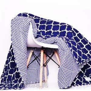 Narzuta FRESH NAVY BLUE 155x205cm od majunto, narzuta, kapa, narzuta-marokańska