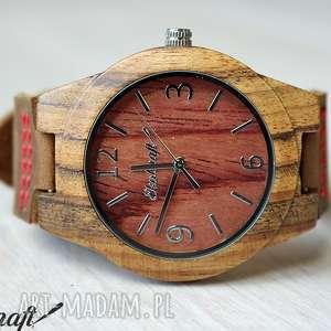 damski drewniany zegarek tectona sandal wood women, drewniany, zegarek