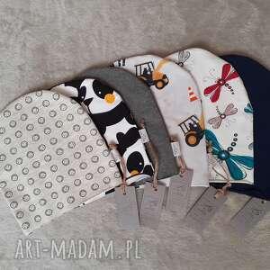 czapeczka dziecięca, koparki, czapka, ważki, pandy, oryginalne prezenty