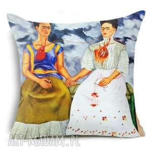 Poszewka na poduszkę z frida kahlo dekoracje ruda klara poduszka