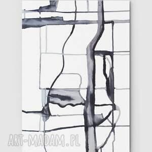 Świata widzenie nr 20 - dom, sztuka, obraz, dosalonu, minimalizm, szarości