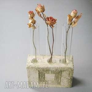 Nowoczesny wazon lub świecznik wazony santin wazon, wnętrze