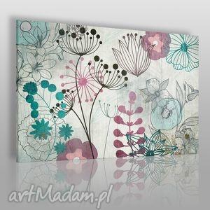 obraz na płótnie - esy floresy 120x80 cm 19201 , kwiaty, rośliny, natura