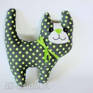 ręcznie wykonane zabawki kotek - kociamber felek