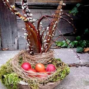 Pomysł na prezenty święta! Wielkanocny wiosenny stroik na stół