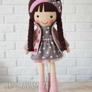 handmade lalki malowana lala magdalena
