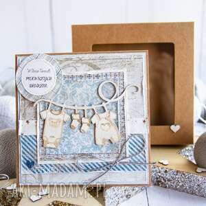 handmade scrapbooking kartki kartka dla dzieciaczka z okazji roczku, urodzin lub każdej