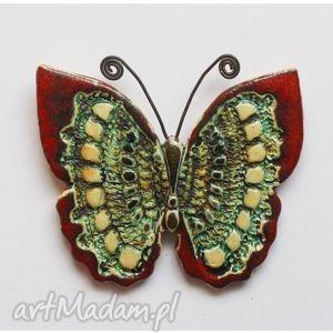 ceramika motyl ii, motyl, ceramika, zawieszka