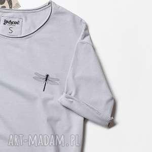 hand made bluzki mini ważka koszulka oversize