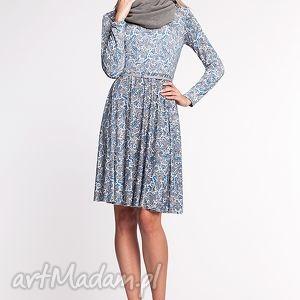 ręcznie wykonane sukienki eunika - sukienka