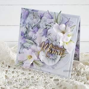 hand-made scrapbooking kartki kochanej mamie, kartka w pudełku, 842