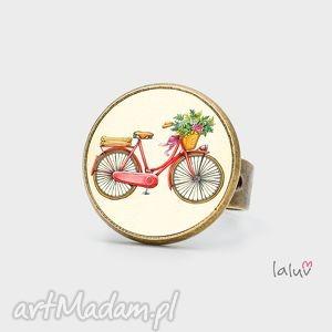 pierścionek love bike, kocham, rower, hobby, pasja, sport, prezent