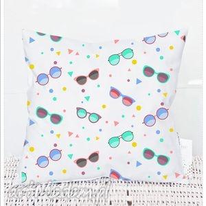 poszewka dziecięca sunglases kolorowe okulary 3037, dziecięcy, poszewka, poduszka