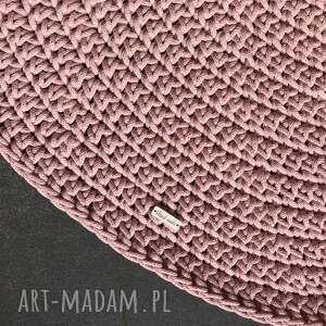 Dywan ze sznurka bawełnianego ślimak 70 cm nitkowelove dywan