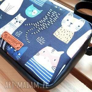 torebka box z kotkami, kotki, listonoszka na lato, mała