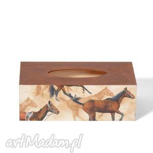 chustecznik - pudełko na chusteczki horse, chustecznik