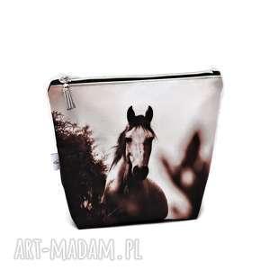 Prezent Kosmetyczka konik, wodoodporna kosmetyczka z koniem, duża koń