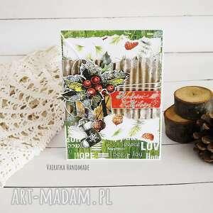 ręcznie robione pomysł na prezent na święta kartka świąteczna, 513