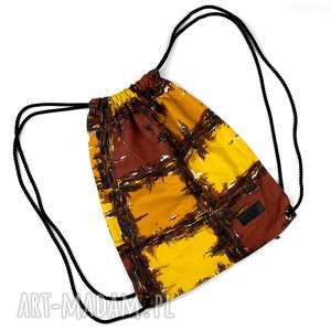 handmade worek plecak etniczny kolorowy