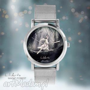 na święta upominek Zegarek, bransoletka - Magiczny las Magic Forest, zegarek