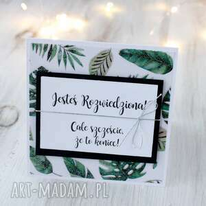 kartka z okazji rozwodu - prezent