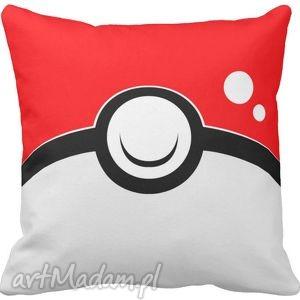 hand-made poduszki poduszka dekoracyjna pokeball pokemon go 6567