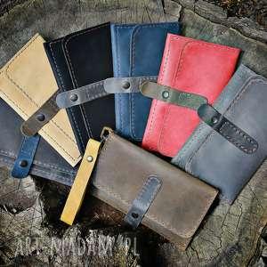 hand-made upominki świąteczne idealny pomysł na prezent, portfel skórzany navahoclothing