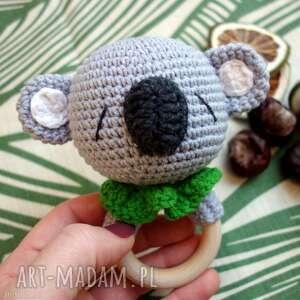 grzechotka - gryzak koala (dziecko, niemowlę, prezent oryginalne)