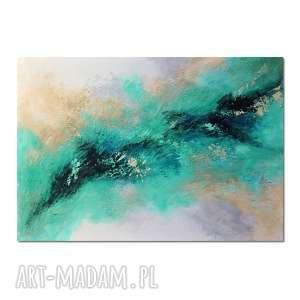 Aurora 3,abstrakcja, nowoczesny obraz ręcznie malowany, obraz, ręcznie, malowany