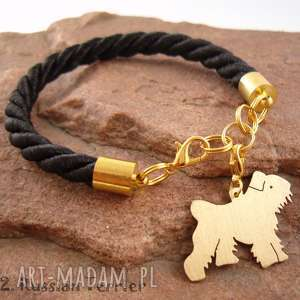 Prezent Bransoletka terrier rosyjski pies nr.22, bransoletka, pies, prezent