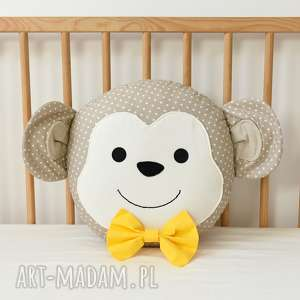 święta, małpka poduszka, małpka, małpa, poducha, poduszka dla dziecka