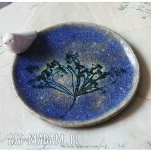 wylegarnia pomyslow mały talerzyk ultramarynowy, ceramika, talerzyk
