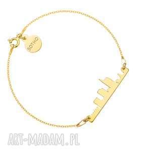 złota bransoletka mediolan - włochy street, miasto, city
