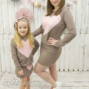ubranka komplet mama i córka spódnica plus bluza, odzież, dziecka, mama