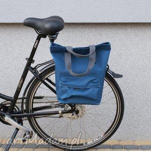 torba rowerowa san marino niebieski, rower, torba, praca, zakupy, prezent