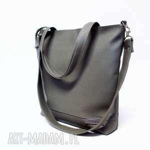 Shopper Bag, shopper, szara, modna, klasyczna