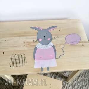 stolik i krzesełko dla dziecka - maluch, krzesełko, meble dzieciece