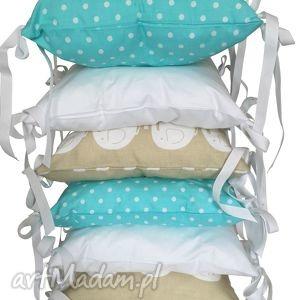 poduchowy ochraniacz lamado 6 częściowy, poduszki, poduchowy, ochraniacz, łóżeczko