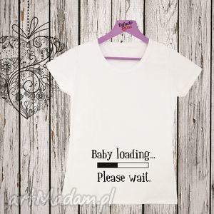koszulka z nadrukiem ciążowym, dla kobiety w ciąży, mama, ciążowa, ciążowe